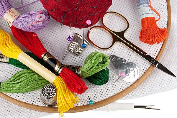 Технология подготовки к вышивке