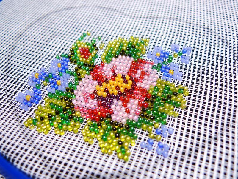 Ткань для вышивки бисером
