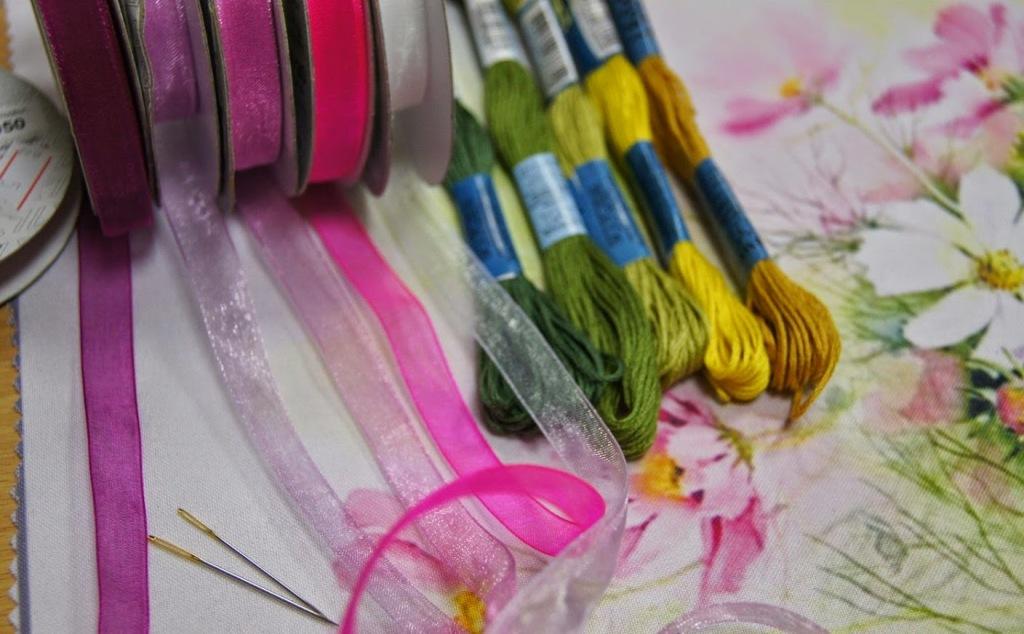 шелковые нитки