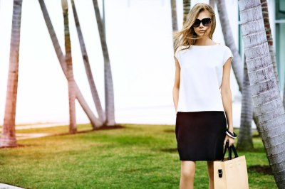 Женственная элегантность в летнем офисном стиле